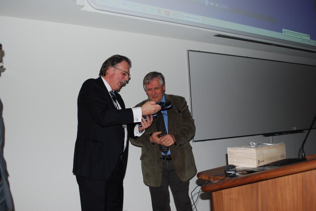 prof. dr. G.J. Kleinrensink en prof. dr. M.J. van Lieburg